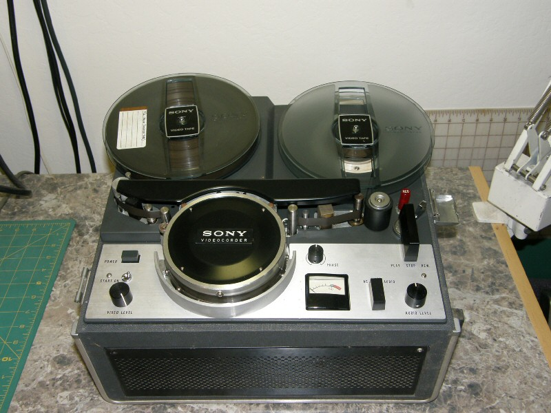 First Video Recorder First Video Tape Recorder Sony