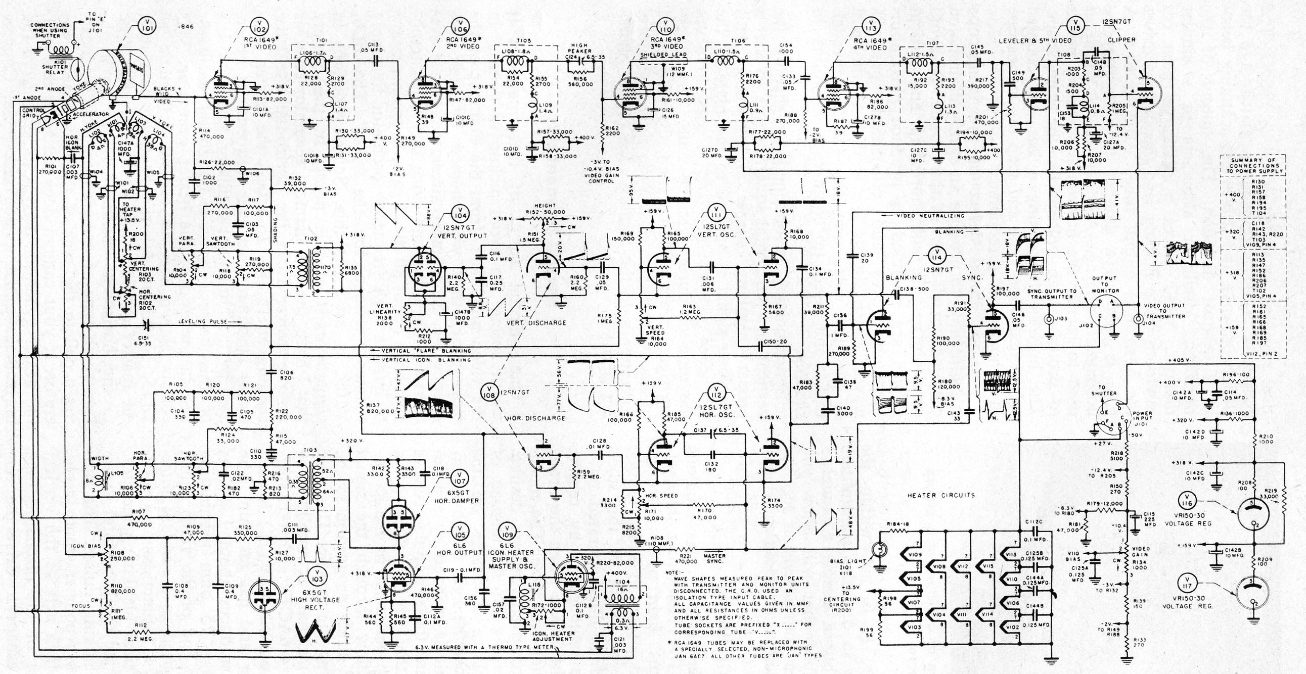 digital camera circuit diagram the wiring diagram labguy s world rca crv 59aae iconoscope tv camera restoration circuit diagram
