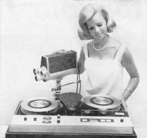 Ampex Home VTR, Camera and a Blonde Babe!!!