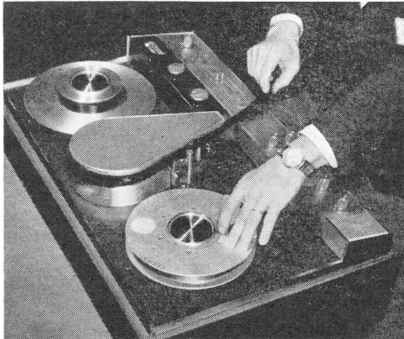 Ampex Home VTR's were SO easy to thread, too!