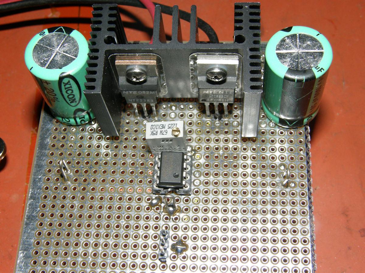 Labguys World Part 1 Deflection Yoke Amplifiers Amplifier Discrete Semiconductor Circuits Electronics Textbook Mosfet Power 20141110