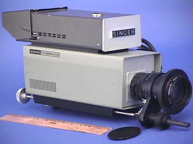 Singer UC-2Z B/W studio viewfinder camera