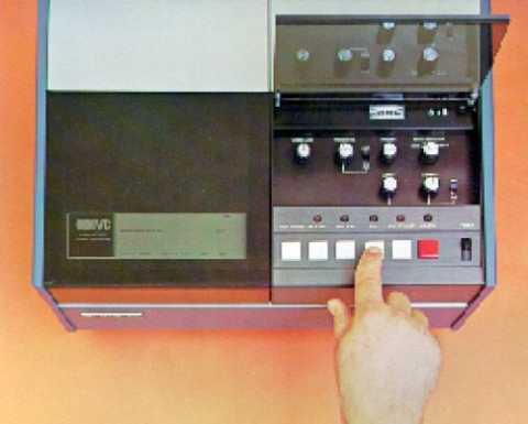 The IVC VCR-100, Video Cartridge Recorder
