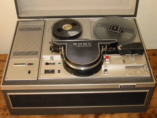 labguy u0026 39 s world  extinct sony cv  dv series 1  2 helical vtr u0026 39 s  1965