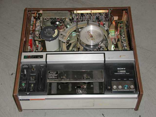 labguys world 1971 sony vp1000u umatic video cassette