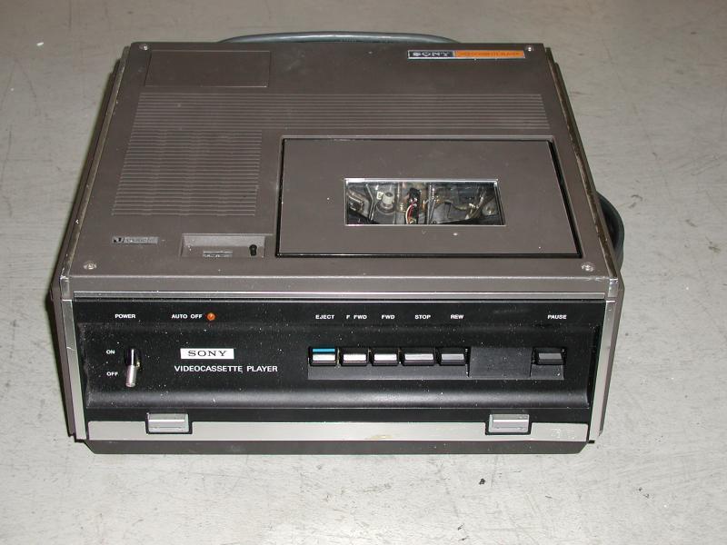 Labguy S World 1974 Sony Vp 3000 Umatic Video Cassette Player